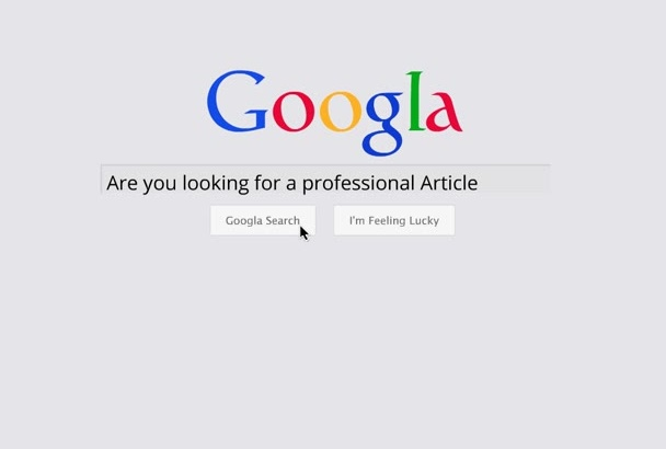 write Exclusive SEO Article Up to 500 Words for you