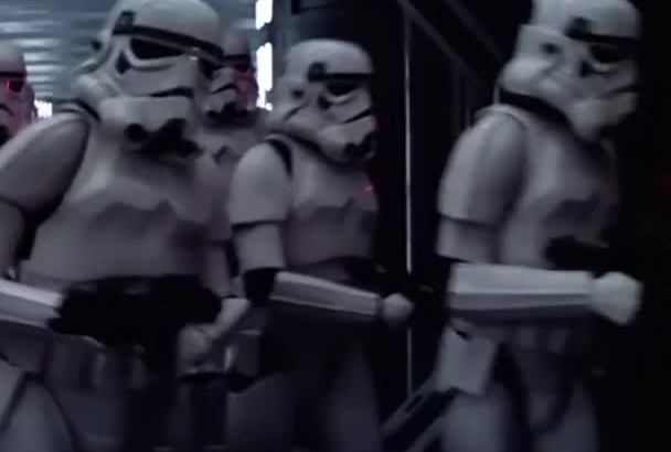 record a Stormtrooper birthday message