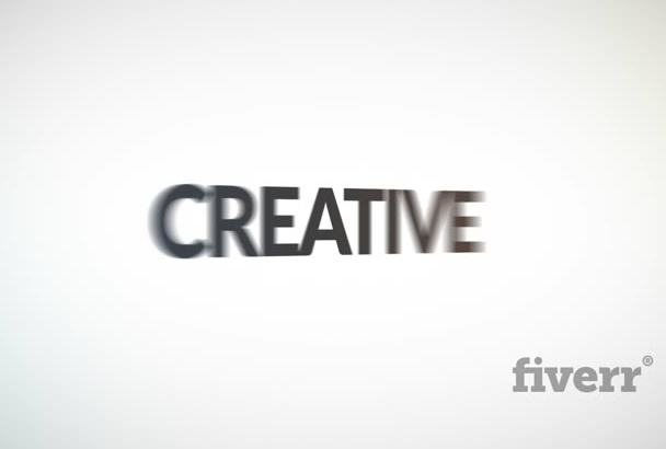 do Clean Creative Text Spin Business Logo Reveal Video Intro