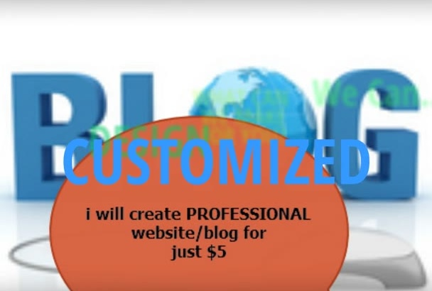 create PROFESSIONAL blogger blog in 48hrs
