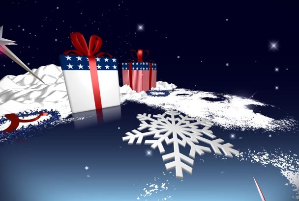 create this stunning Christmas Intro