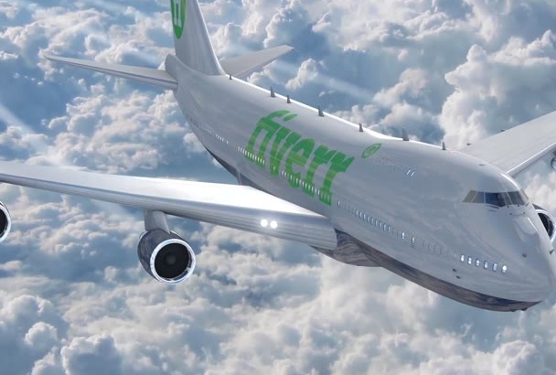 promote Your Company BRAND Logo On an Airplane