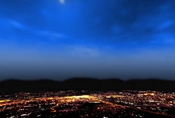 create City Light intro video in 24hr Full HD