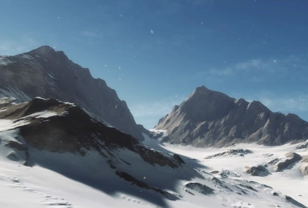 create mountain video intro