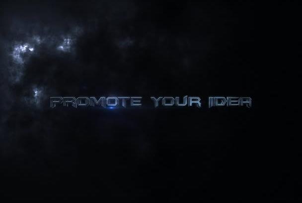 create this Thunderous Promo