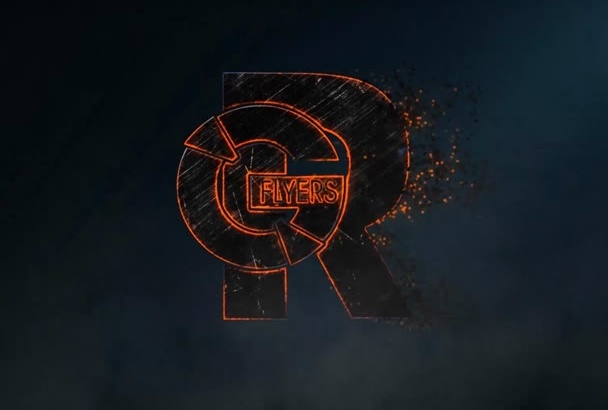design a fire efect for your logo