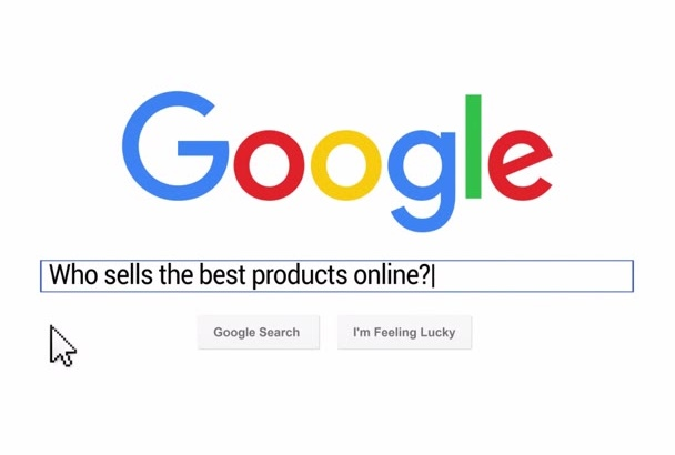 make this Google search animation promo