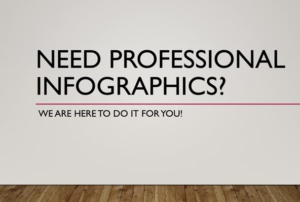 create a High Quality Infographic