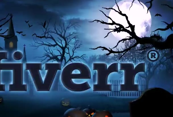 create this Fantastic Halloween intro with your Logo or Text