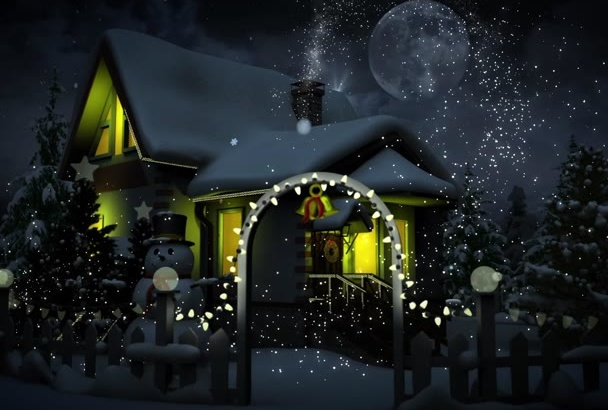 make a magical CHRISTMAS video