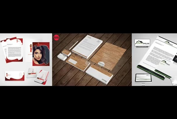 design Beautiful Stationary Design for you