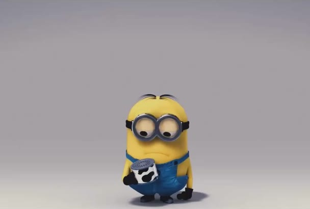 make your logo or text by minion