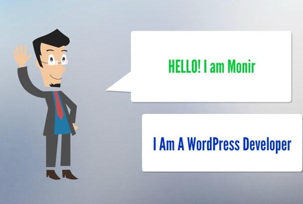 install wordpress theme,add contact form, slider for you