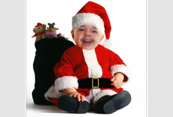make a very funny Christmas video for you