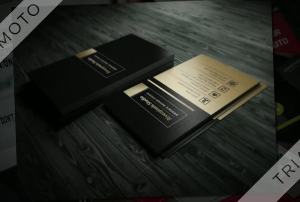 make professional business card