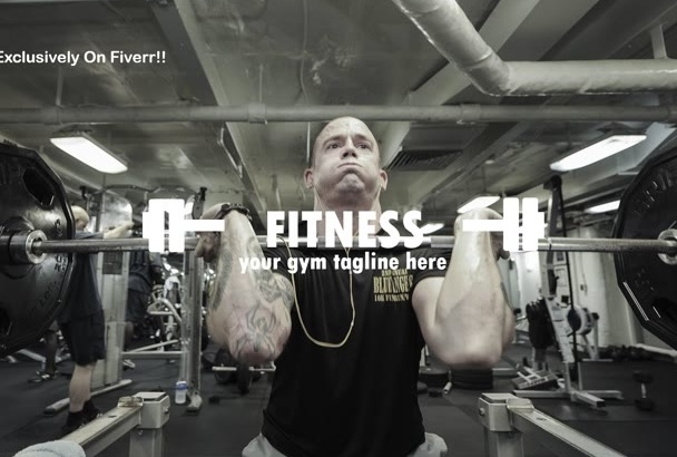 create fitness centre promotional video