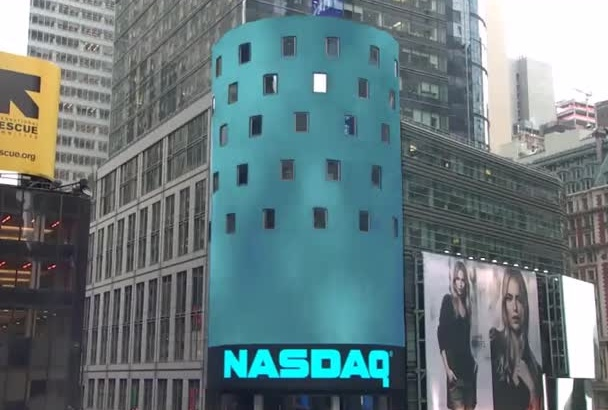 place whatever you want on Nasdaq sign in TSquare