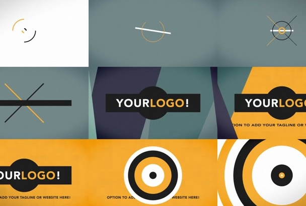 give your logo a effective flat vector style animation