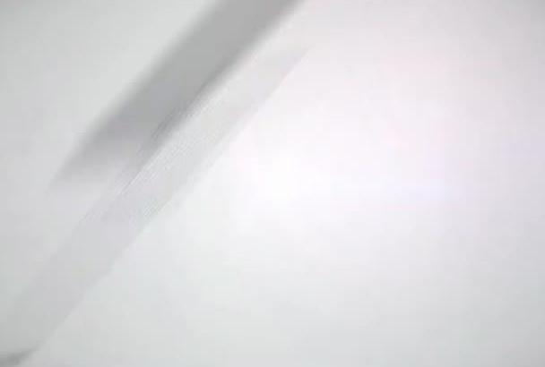 design a simple clean logo reveal