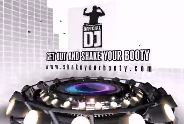 creat this DJ Sublimal Intro Video for your Business