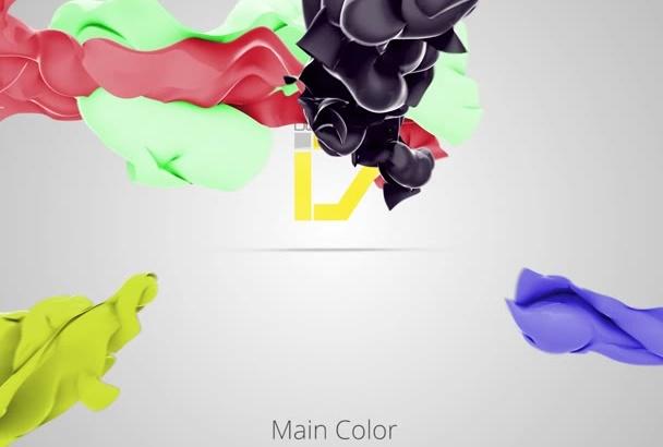 create this cloth flow intro
