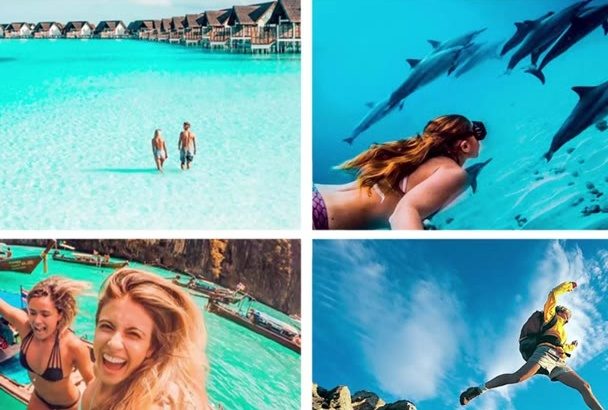 make AMAZING travel video from your vacation