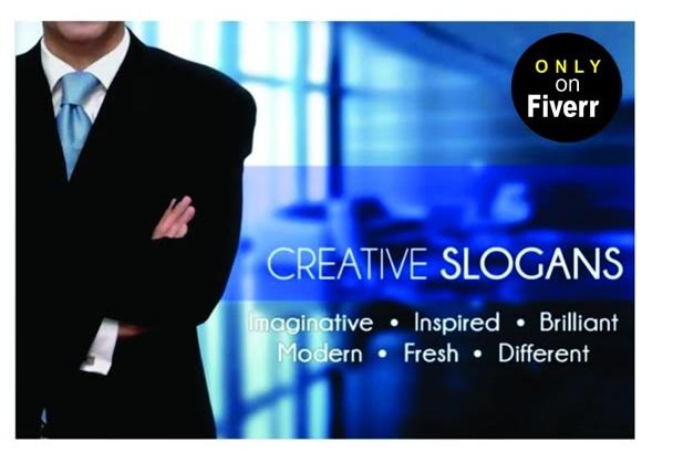 create your perfect slogan or tagline