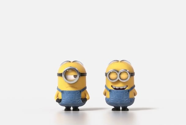 minion fart funny video and add your LOGO and text in 2 hour