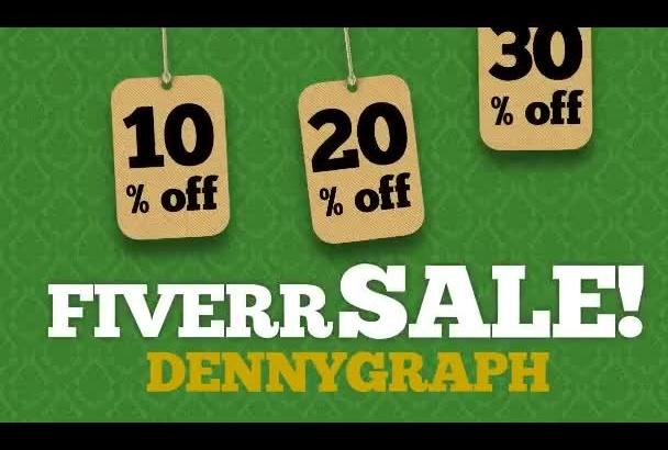 create sale ad promotion video