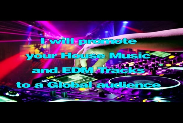 promote your EDM song worldwide
