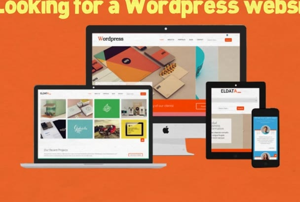 convert your existing static HTML website to a WordPress