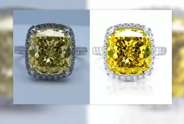 retouch jewelry images to studio quality