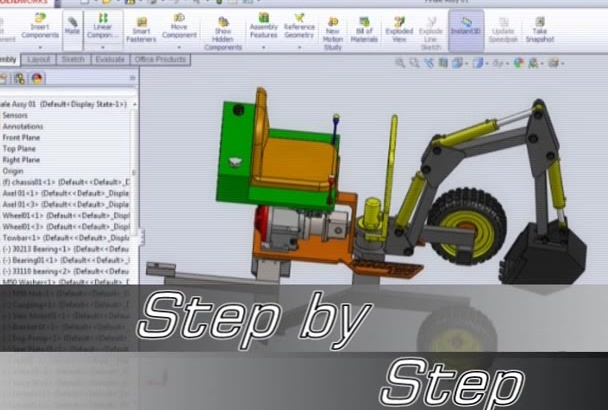 do start your project on Solidworks or AutoCAD