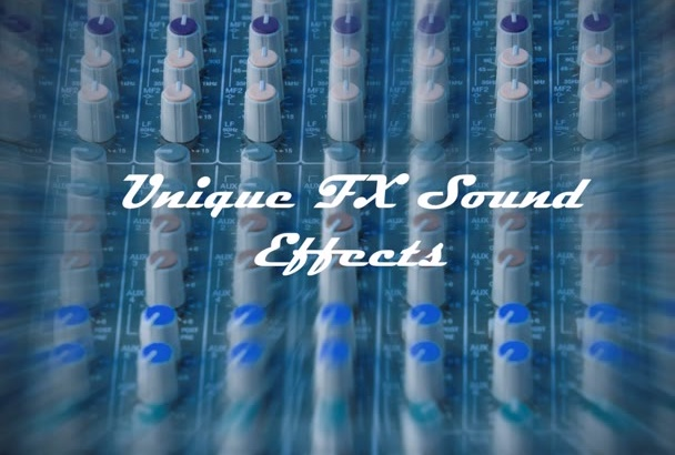 embed 5 pro sound effects into to your audio content