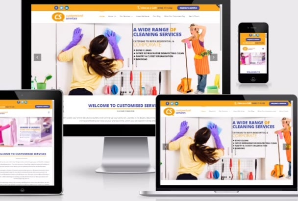 make website responsive mobile friendly in 24hours