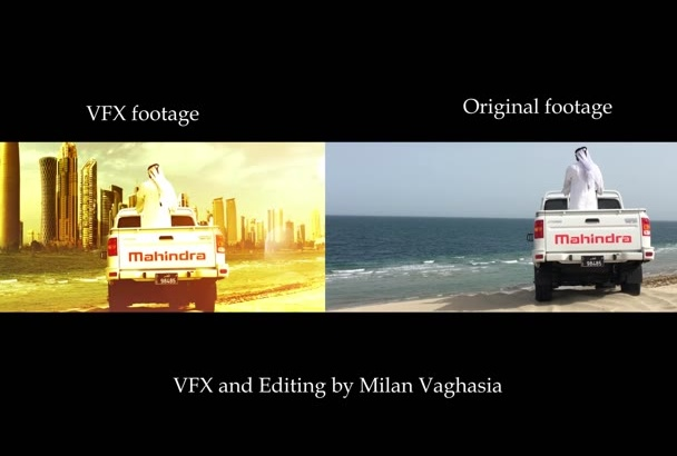 do VFX work for you