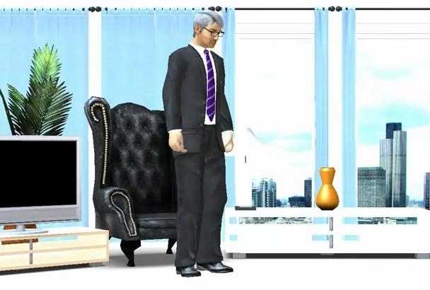 make a 3D Cartoon Style animation