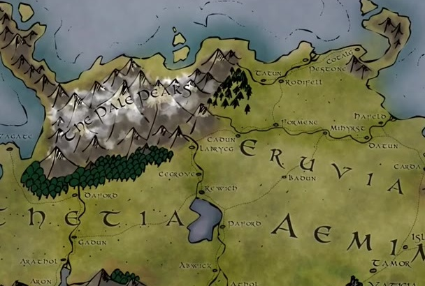draw a fantasy map for your book or RPG setting