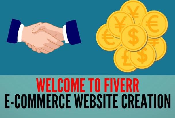 create full WordPress eCommerce Website Online Store