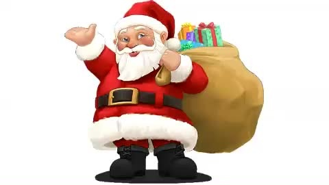 animate Santa to talk your personalised messages