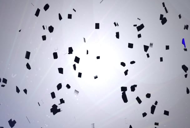 create a shatter video clip for your logo or picture