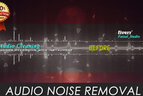 clean your Audio Noise