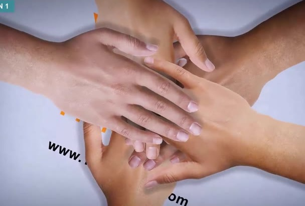 real HANDS promote Logo Website Product eyecatch intro