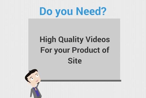 make animation or explainer video