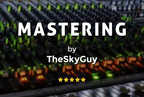professionally MASTER your music