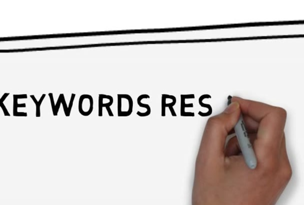 do a rankable keywords research and competitor analysis