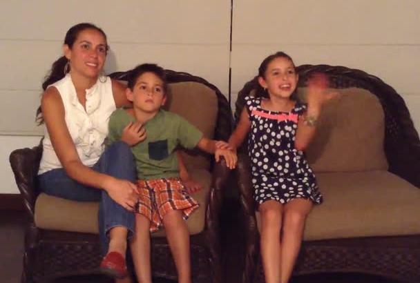 testimonio familiar español, ingles acento latino