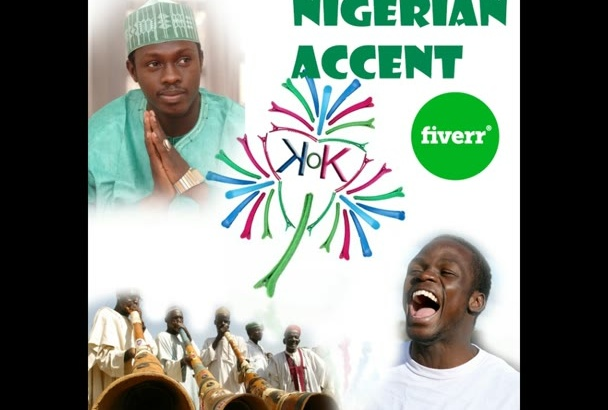 do a Nigerian o African accent