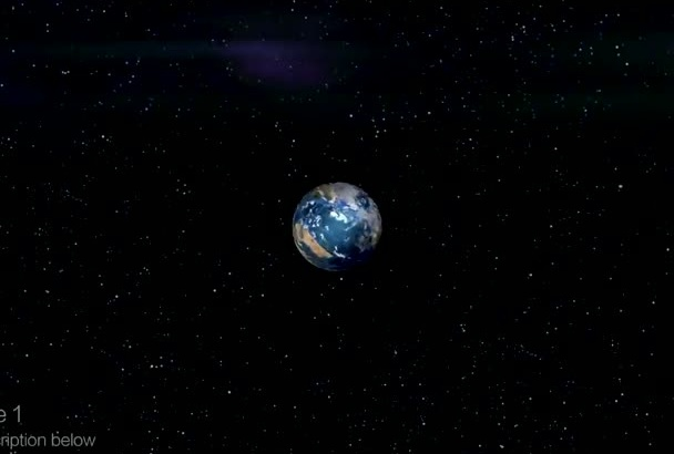do EPIC 3D globe logo reveal intro