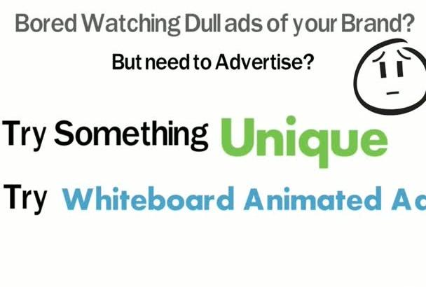make Whiteboard Animated Video